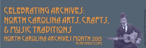2015 Archives month bookmark