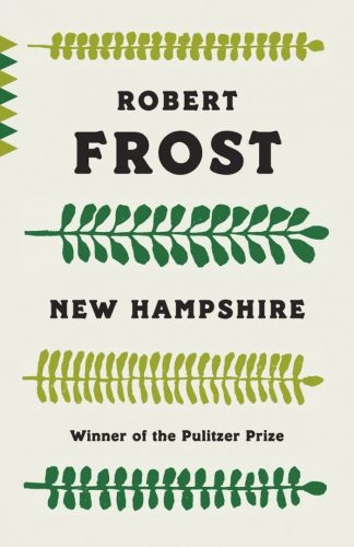 cover of Robert Frost's book New Hampshire