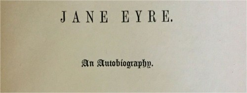 My title for Jane Eyre essay...?