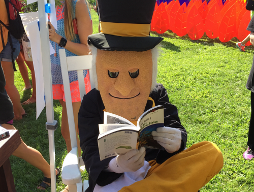 Demon Deacon reading at Arrive and Thrive 2015