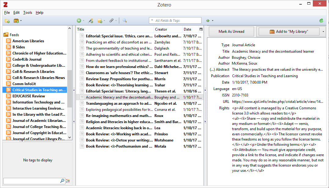 Exciting Zotero Updates Zsr Library