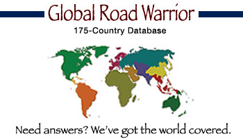Global Road Warrior interface