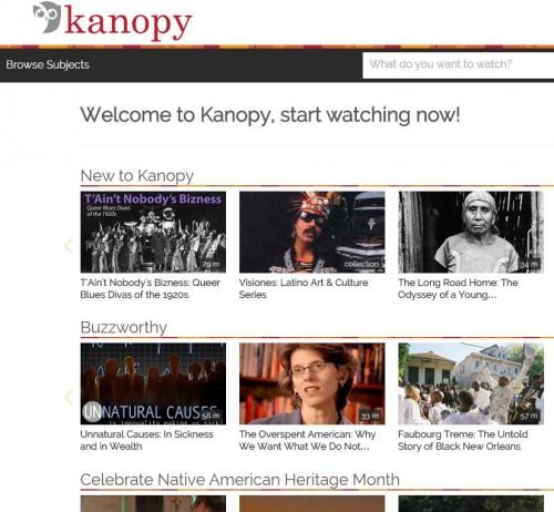 kanopy screenshot
