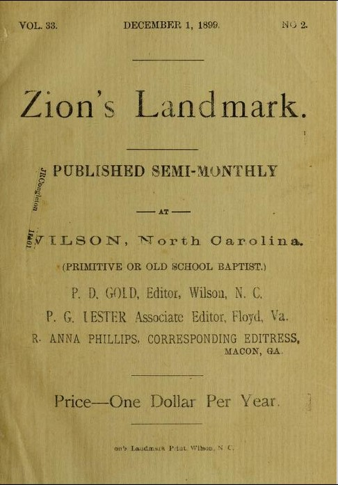 Zion's Landmark