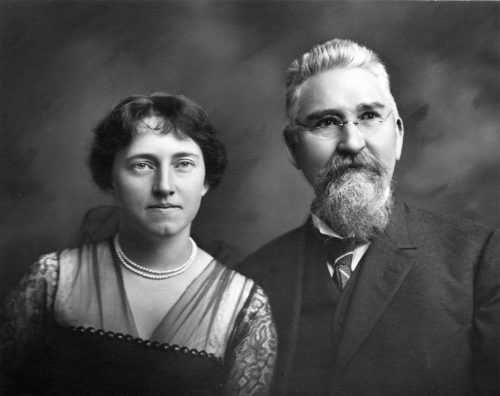photograph of Katharine Reynolds & R.J. Reynolds, 1914