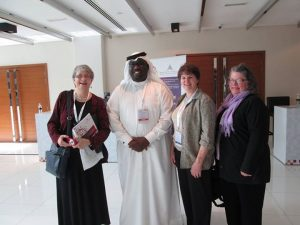 Mary Krautter, Mohamed Mubarak, Mary Beth Lock and Mary Scanlon