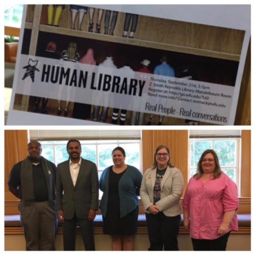 Human Library at ZSR