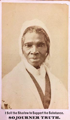 Title Sojourner Truth Carte De Visite